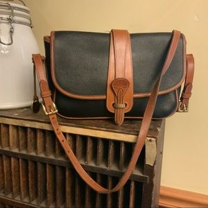 Dooney & Bourke equestrian style crossbody purse